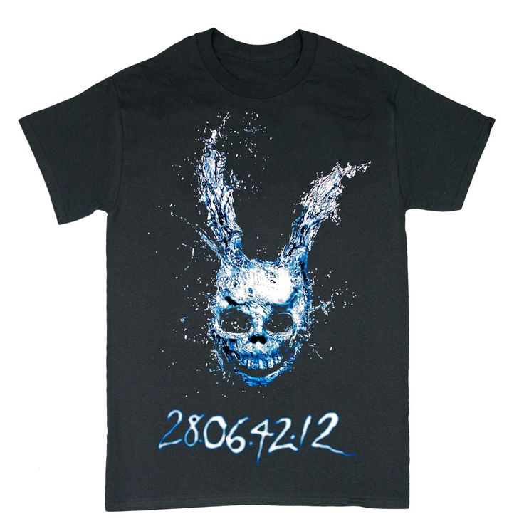 Donnie Darko Movie T Shirt - This Donnie Darko Rabbit Head Movie T Shirt is the perfect tribute to this dark and haunting movie classic.