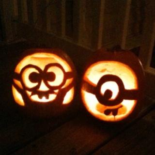 despicable me minion pumpkins