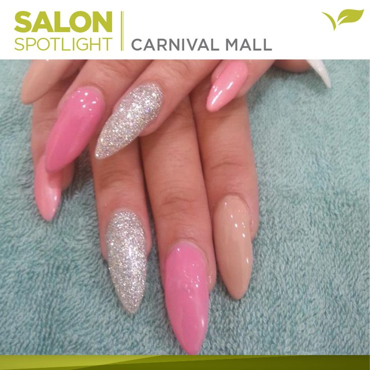 Stileto nails done by Placecol Skincare Clinic Carnival Mall