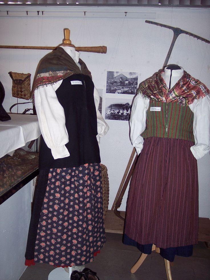 Järvsö (vänster) Ramsjö (höger)