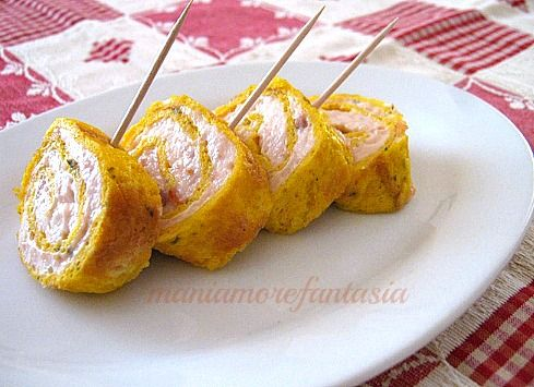 Girelle al salmone ricetta fingerfood