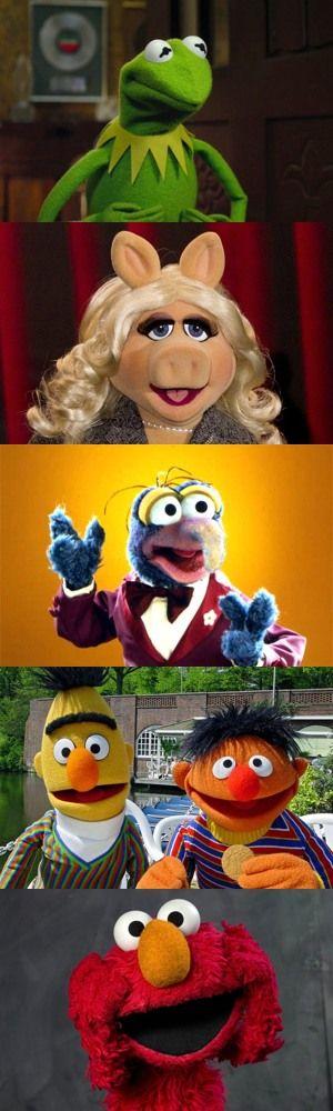 Cinque personaggi dei Muppets di cui non ricordate il nome