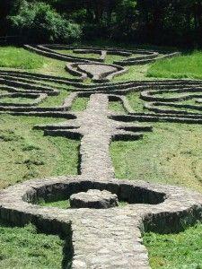 Giardino di Spoerri in Seggiano (Monte Amiata - Toscana)