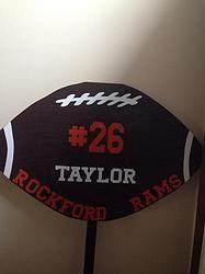 football yard signs - Yahoo Image Search Results