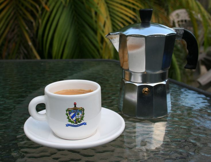 Cuban coffee...nothing better