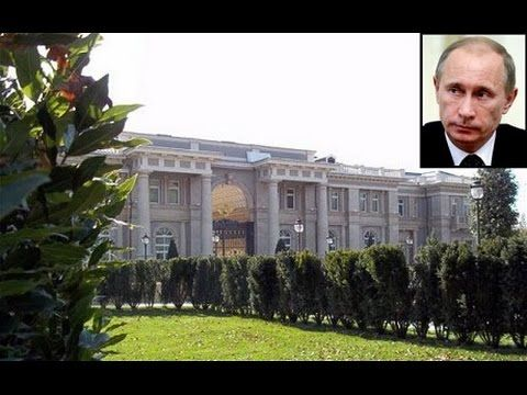 Putins palace 1 billion dollars  Black sea area located here on Google E...