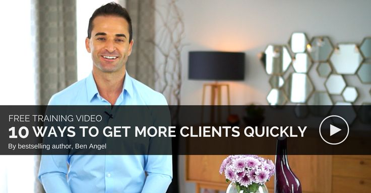 VIDEO: 10 Ways to Get More Clients