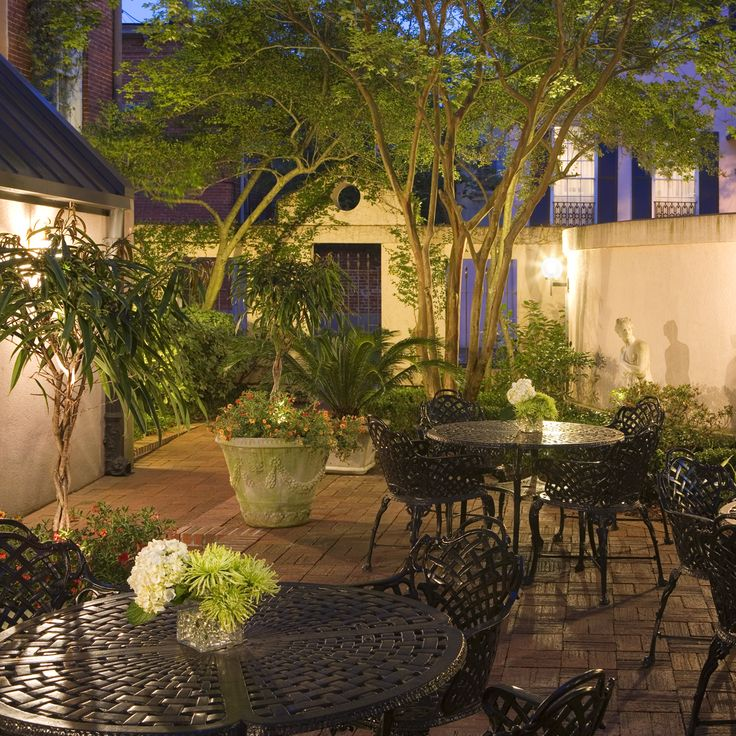Savannah Courtyards So Much of What Travelers Admire