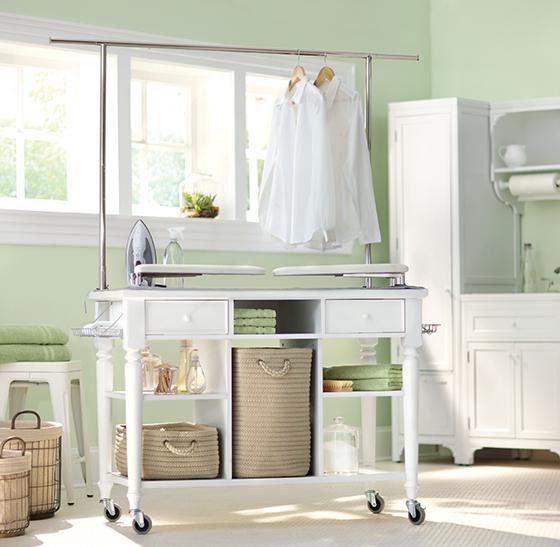 Martha Stewart Living Laundry Storage Cart Homedecorators