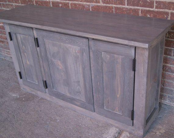 Genial TV Stand / Media Console / Media Cabinet / Rustic By FurnitureFarm, $649.00