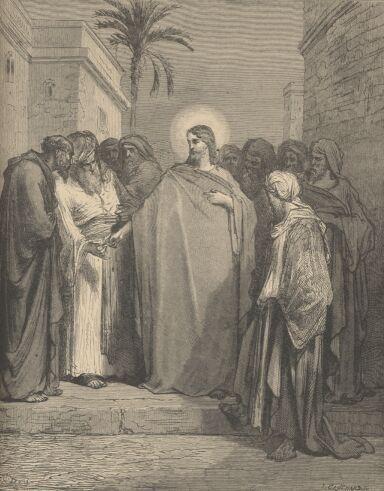 JesusPharisees - Render unto Caesar - Wikipedia, the free encyclopedia