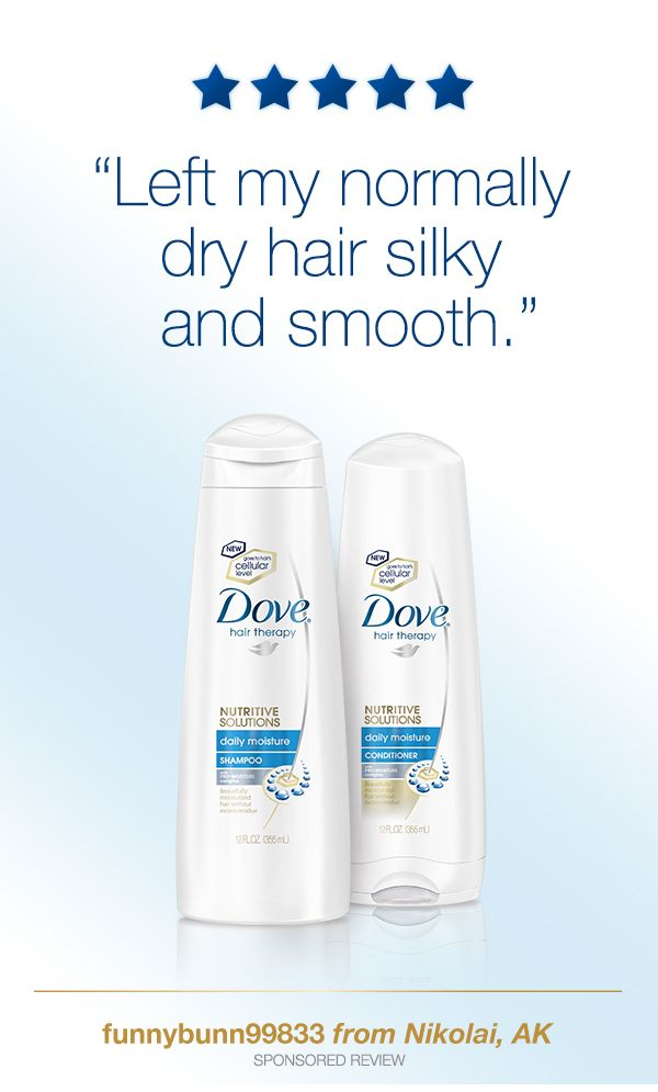 Left my normally dry hair silky and smooth. (Sponsored Review) #DoveHairAffair