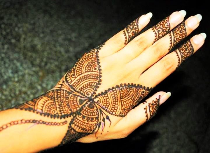 Mehndi Wrist Joint : Best lovely mehndi heena designs images