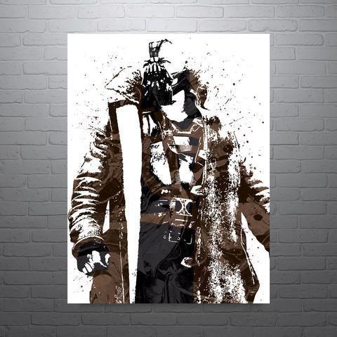 Bane Batman Dark Knight Rises Poster - PixArtsy