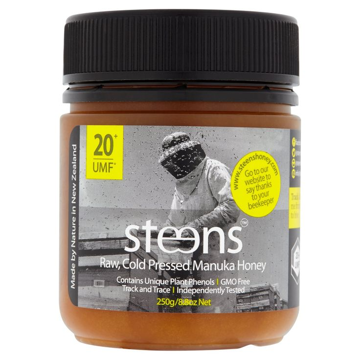 Steens Manuka Honey UMF 20+ (MGO 829+) 8.8oz | 100% Raw Unpasteurized Honey From New Zealand | Contains Natural Healing Properties for Sore Throats & Immunity | Traceability Code on Each Label