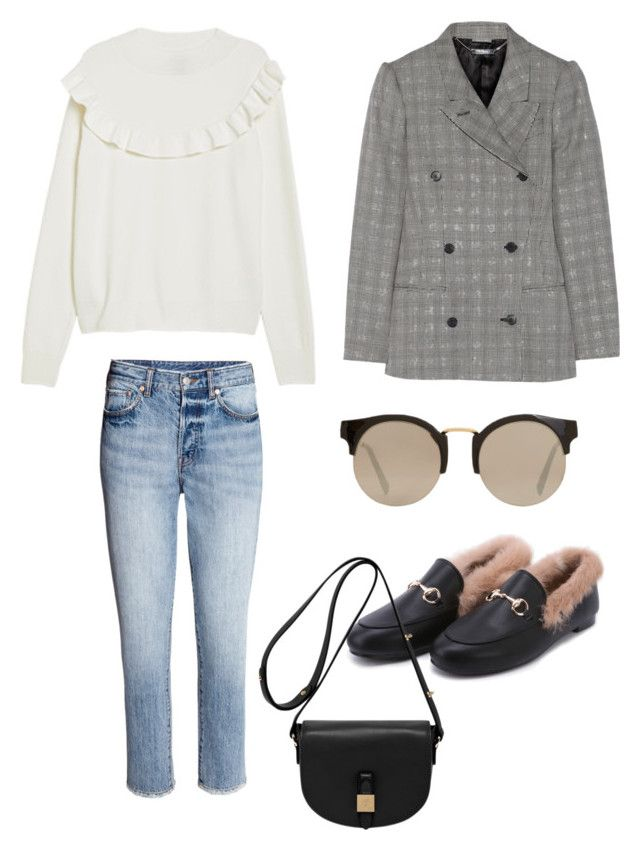 """""""Untitled #171"""" by stinasolheim on Polyvore featuring Alexander McQueen, MANGO and Mulberry"""
