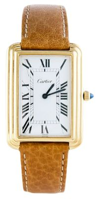 Cartier Watch. This is a dream watch of mine! Maybe one day haha