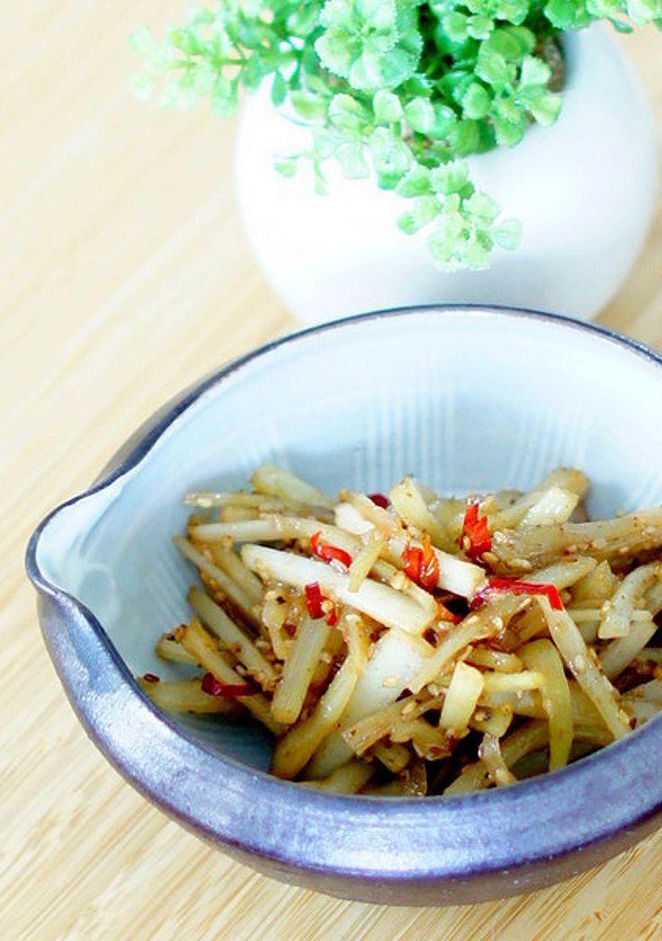うどの皮のきんぴら by manngo   レシピサイト「Nadia   ナディア」プロの料理を無料で検索