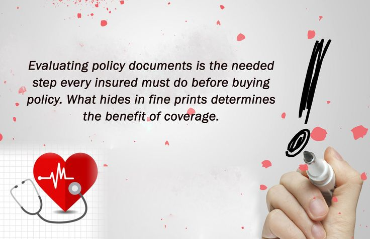 The most important part of a health insurance policy is the policy document that contains inclusions and exclusions of policy benefits. Those who have an in-depth knowledge of the health insurance plans, they know that devils lie under the fine prints of a policy document. If you miss them, you will be in a big problem at the time of claiming the amount.