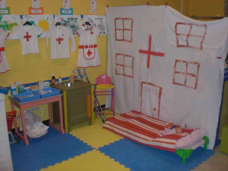 DIY Pretend Play; Doctor Treatment Room. :-D