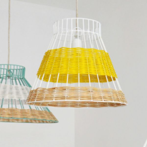223 best the wisely pendant lights images on pinterest pendant serax colonel yellow rattan lampshade greentooth Images