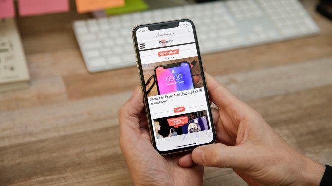iPhone X: Bedienung ohne Home-Button ©COMPUTER BILD