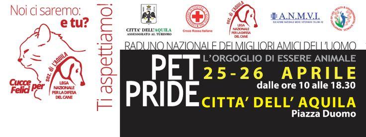 #Cuccefelici @ #PetPride 2015 #LAquila #Abruzzo