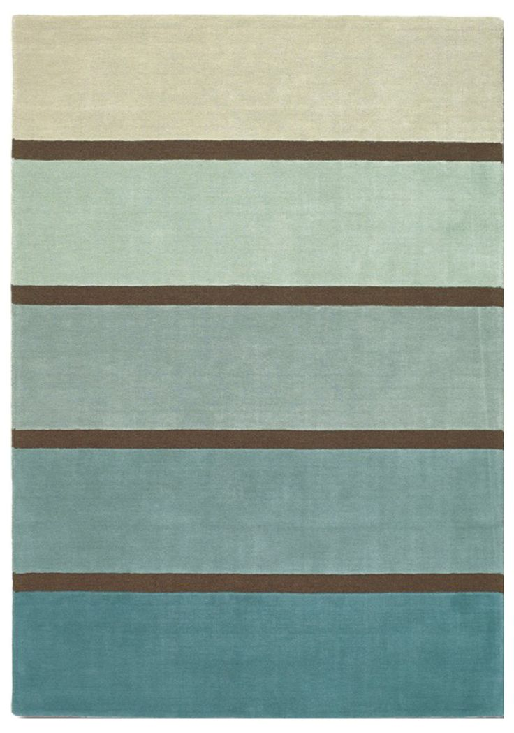 Soft under foot and hard wearing, these are just some of the highlights of this stunning rug from Brink & Campman. It showcases a thick block stripe design