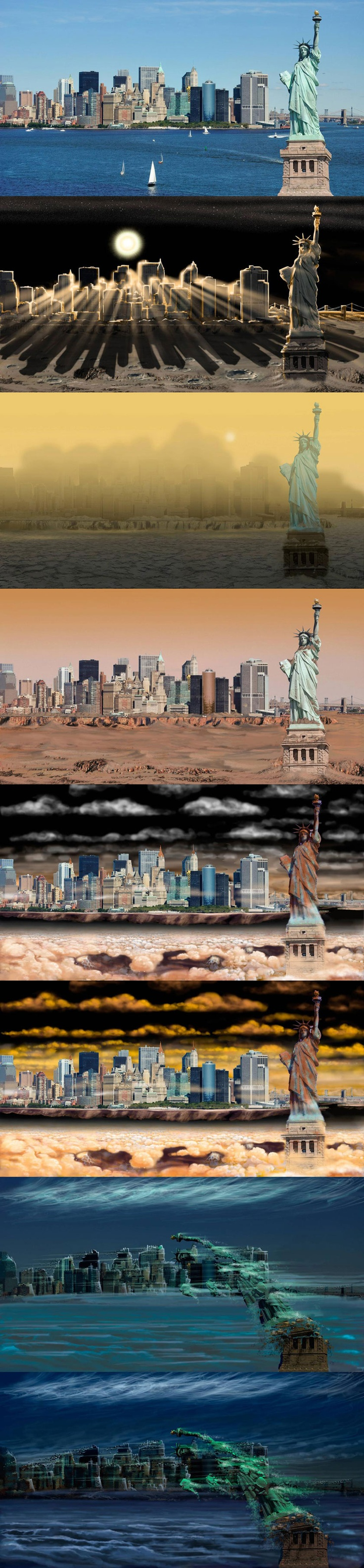 Here's what New York City would look like on other planets.