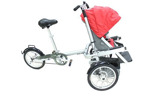ShopitShipit-DirectFactory-Quality-Liberty-Bike-Stroller-Outdoor-Baby-Family-Pram-Leisure-Single-Speed