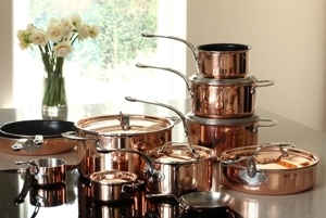 New group shot with range extension... look at the lovely new products... the Stock pot - Sauté  pan - Mini Casserole - Mini Fry pan