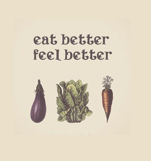 It's really simple: eat better foods and you'll feel a whole lot healthier! So buy organic foods starting from today—or better yet, grow your own veggies at home so you can always have good food, save money, and help the environment at the same time.