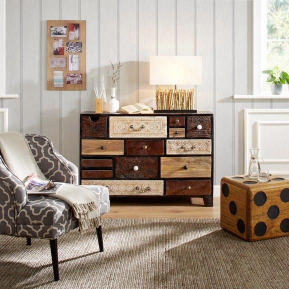 62 best Ode an die Kommode! images on Pinterest Buffet, Buffets - schwarz weiß wohnzimmer