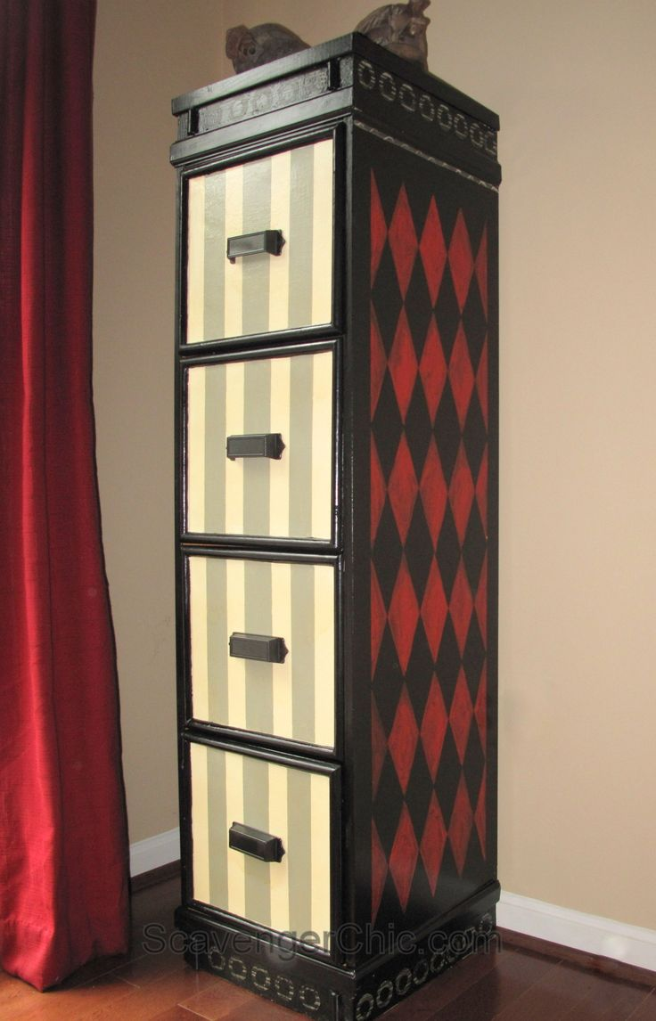 Best 20 Painted file cabinets ideas on Pinterest