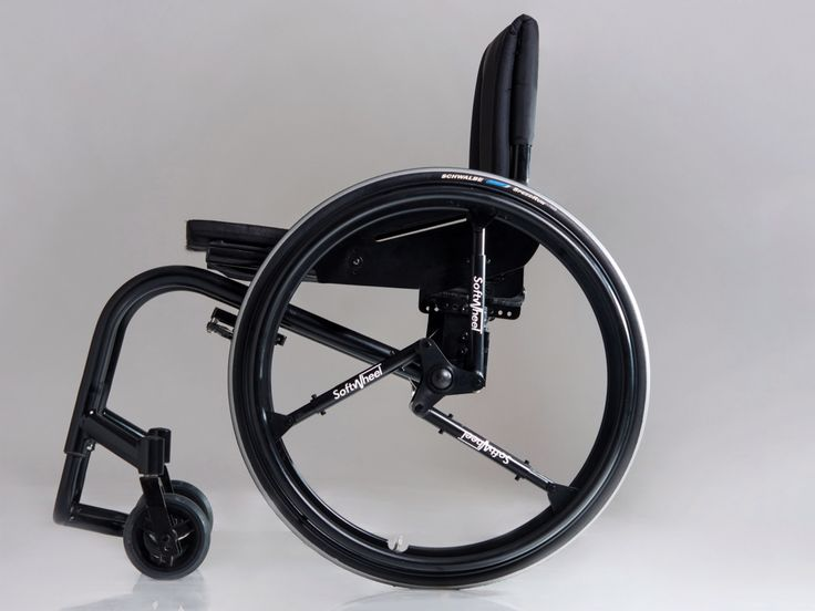 "An Ingenious Shock-Absorbing Wheel for Bikes and Wheelchairs | SoftWheel makes rides smoother using ""symmetric and selective technology,"" that employs three compression cylinders to absorb shocks within the wheel before they're transferred to rider.  s By Softwheel  