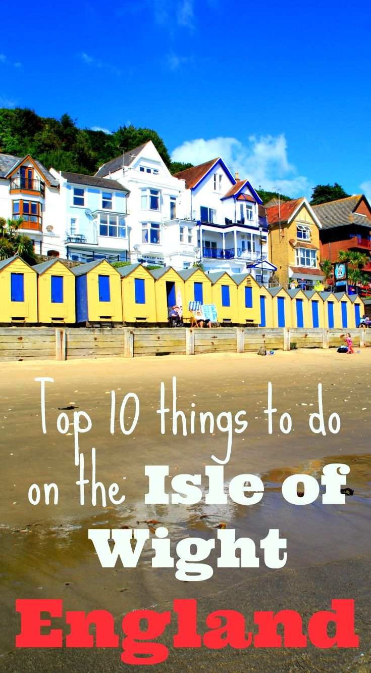 Gorgeous beaches, thatch-roofed cottages; it's England as it used to be! Only with great food! Read all about my top 10 things to do on the Isle of Wight: http://www.worldwanderingkiwi.com/2016/02/10-things-to-do-on-the-isle-of-wight/