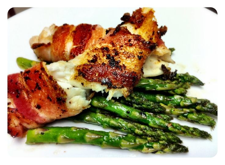 24 best grouper images on pinterest seafood recipes for Bacon wrapped fish
