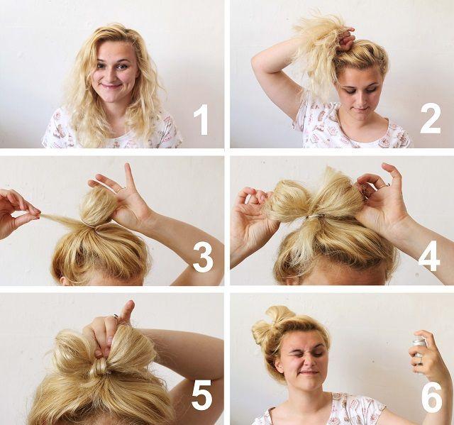 The Best Hair Bow Bun Ideas On Pinterest Bow Buns Hair Bow - Hairstyle bun with bow
