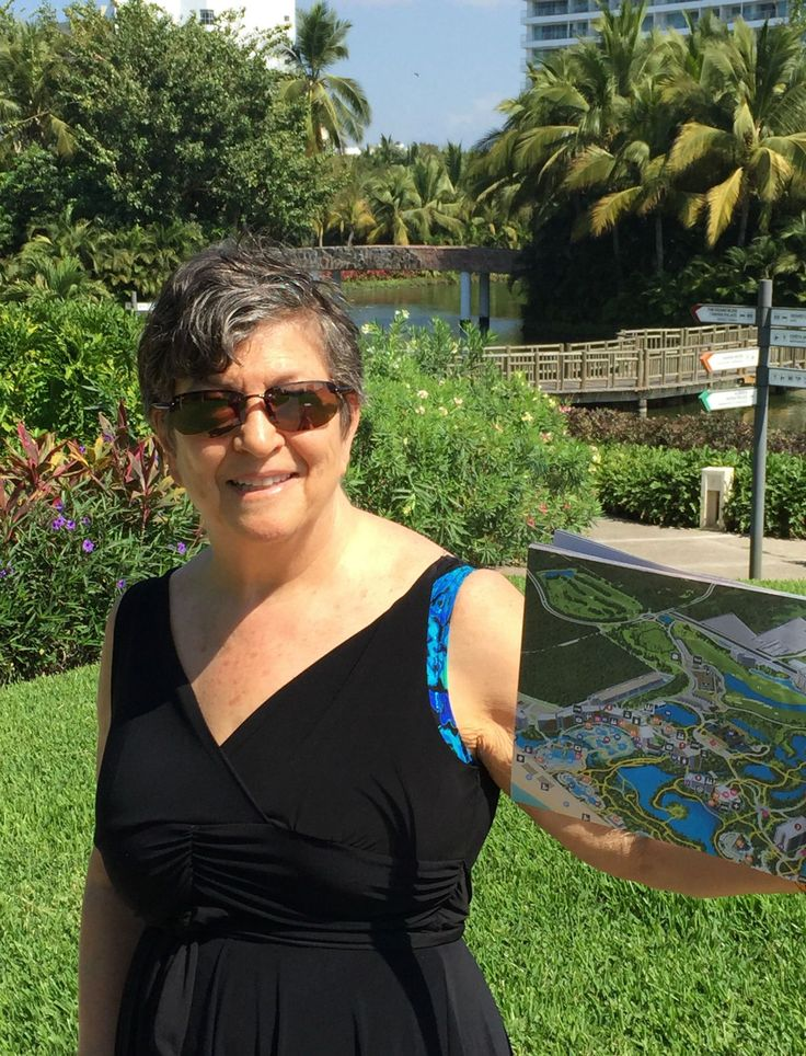 A.M's.Mom explores the resorts