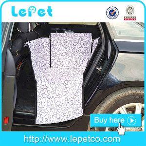 Dog Car Seat Cover Hammock Pet Waterproof Chewproof