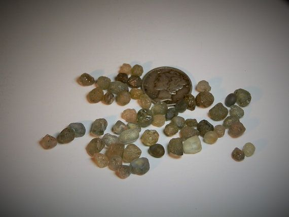 Loose Sapphire Rough Montana Sapphire Lot Unheated Untreated Natural Facet Grade Corundum 54.90 Carats Lapidary Jewelry DanPickedMinerals