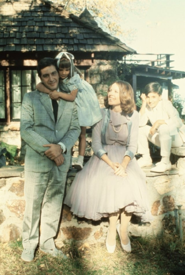 The godfather 2, I think that this is the only time I've seen Michael smile in the godfather 2..