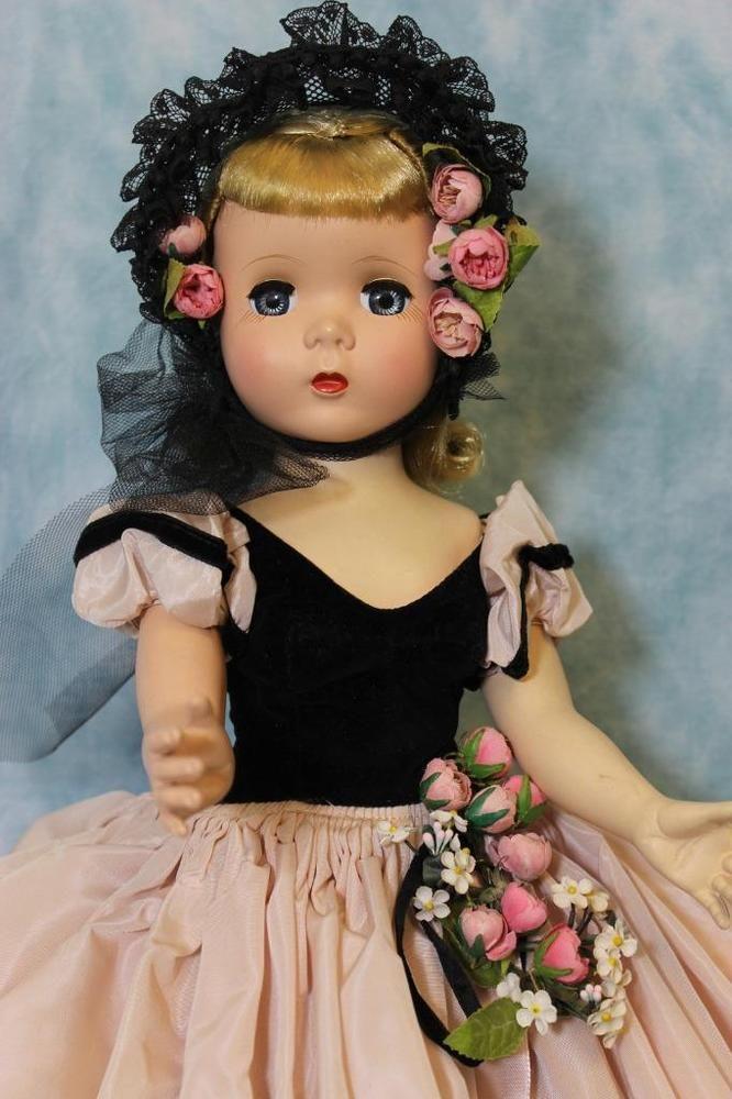 "18"" RARE Madame Alexander Victorian 1953 Glamor Girl Series Maggie Ex. Cond"
