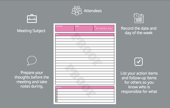 Best Printable Planner Images On   Checklist