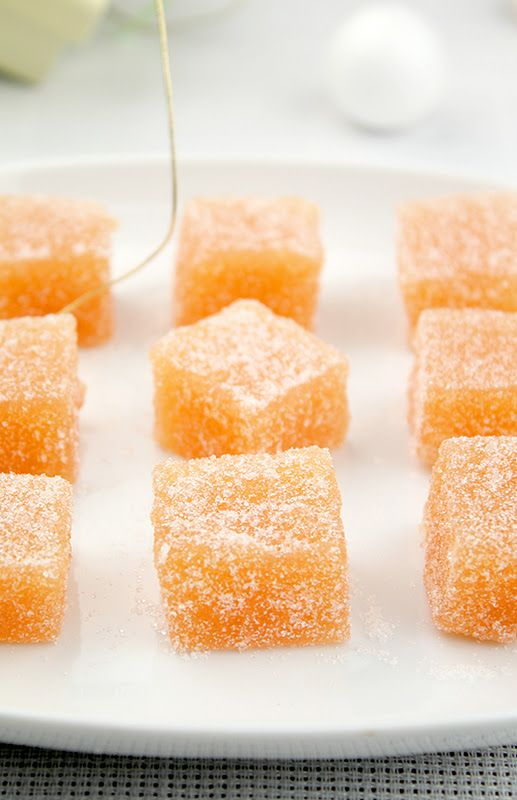 Donkey and the Carrot: Sugar Quince cubes! Ζαχαρωτά κυδώνια ή αλλιώς ζελεδάκια κυδωνιού!