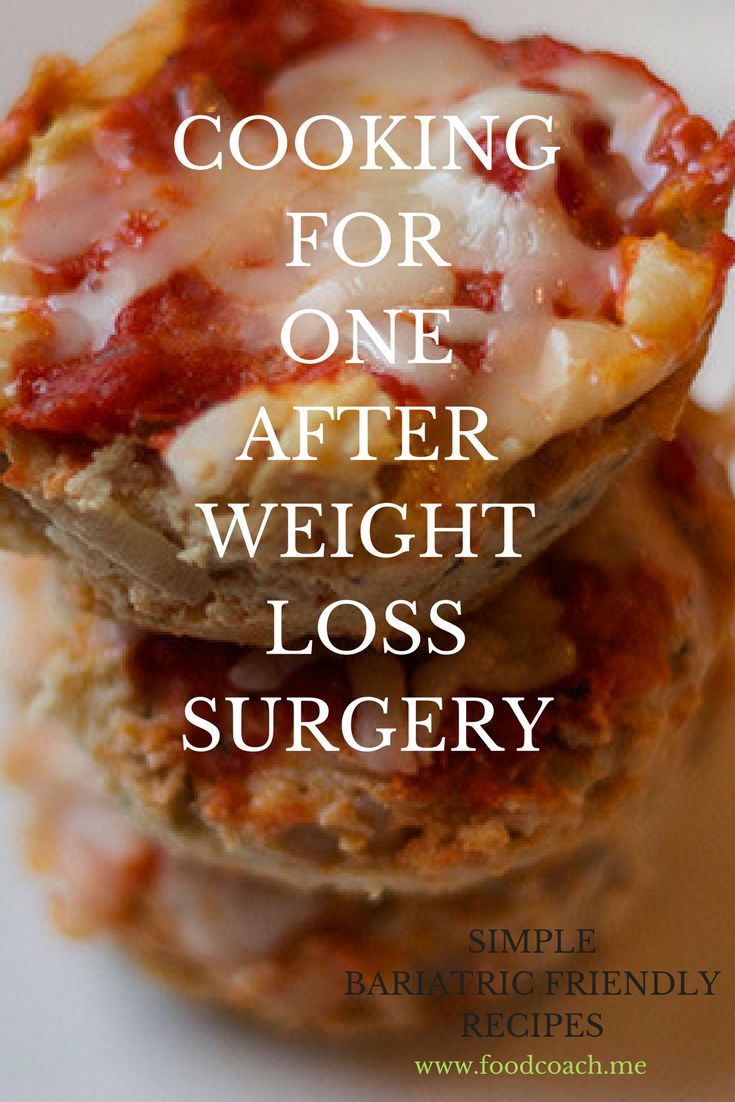 Cooking for One After Weight Loss Surgery - a full article plus tons of single serving bariatric surgery recipes!
