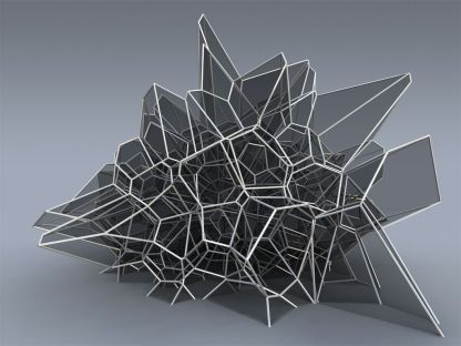 Futuristic cellular structure The fact that architecture is deriving inspiration from the foam-like membrane structures of cells is ironic since the word cell in biology derives from the architectu...