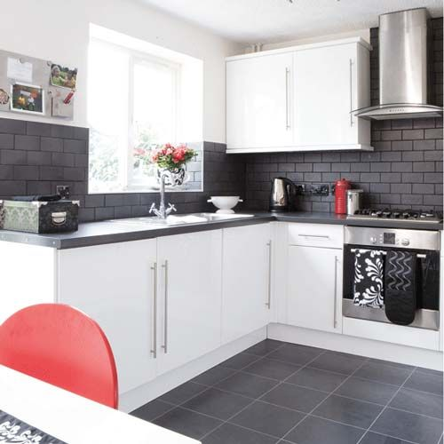 black and white kitchens | Black and White Kitchen Design