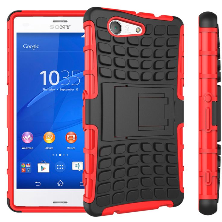 New Case - Red Sony Xperia Z3 Compact Defender Case - Dual Layer Hybrid Kickstand Cover, $11.95 (http://www.newcase.com.au/red-sony-xperia-z3-compact-defender-case-dual-layer-hybrid-kickstand-cover/)