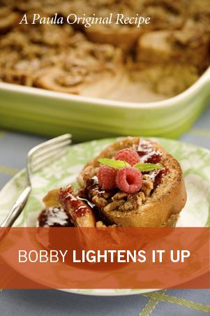 Bobby's Lighter Baked French Toast Casserole